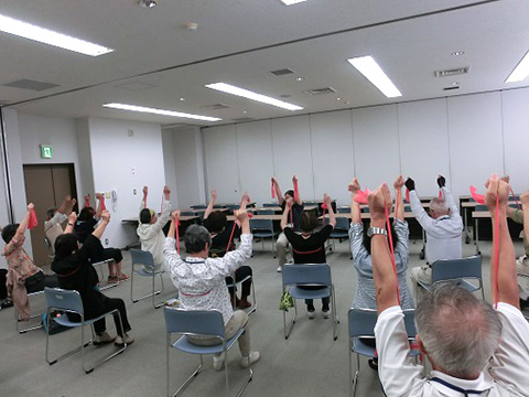 すこやか運動教室(生涯元気事業)